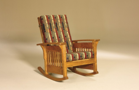Bow Arm Slat Rocker