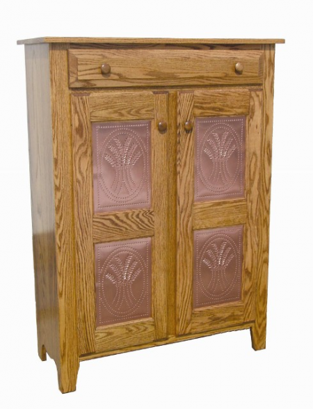 Double Door Punched Copper Jelly Cupboard
