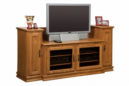 Heritage TV Stand SWE-48H with Towers