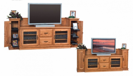 Heritage TV Stand SWE-60H with Towers