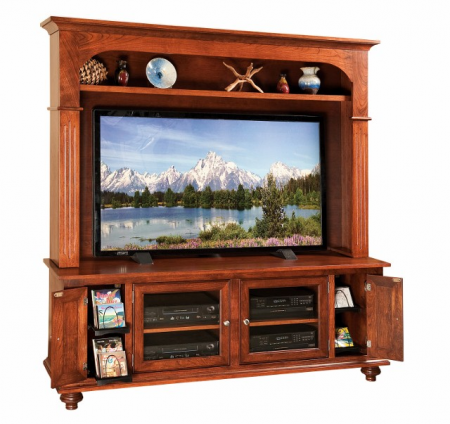 Larson TV Stand SWE-73 with Top Section